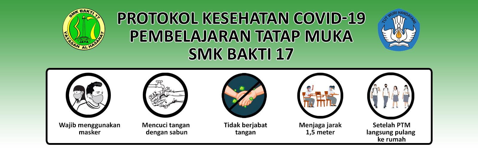 Pembelajaran tatap muka SMK Bakti 17